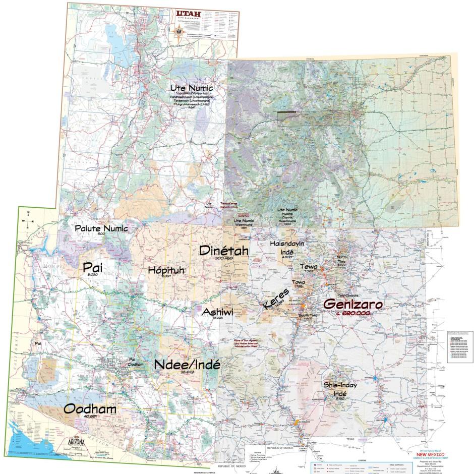 Arizona-New Mexico with added Native Territory - wo borders-1