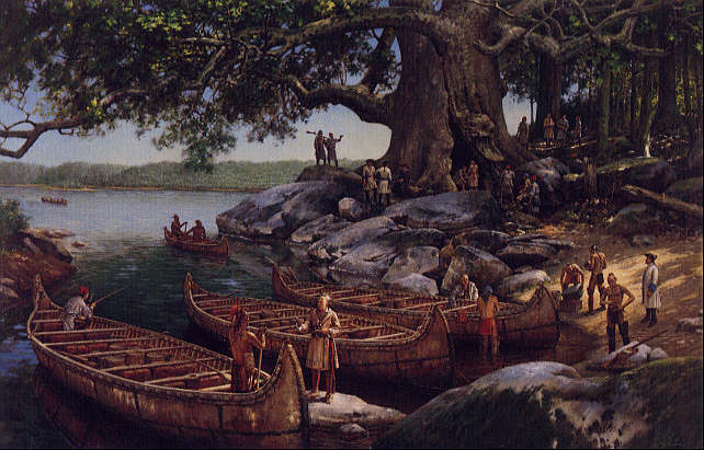 We_Dined_in_the_Hollow_of_a_Cottonwood_Tree - Iroquois and Abenaki